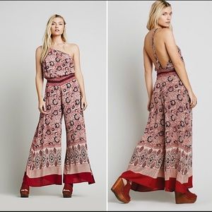 Free People || NEW! Bali Lovina Jumpsuit Romper M